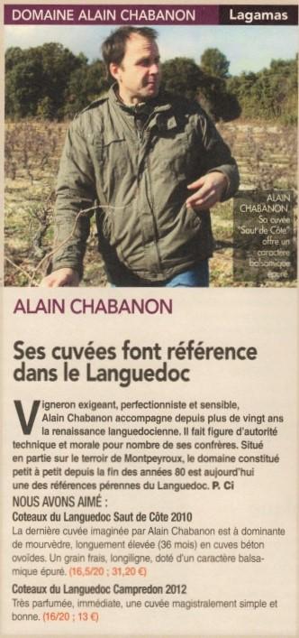 Chabanon Alain Domaine Chabanon RVF