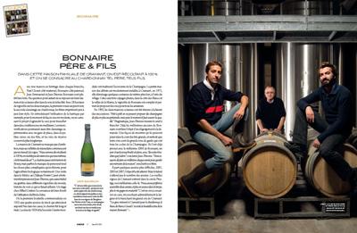 chamapgne bonnaire magazine