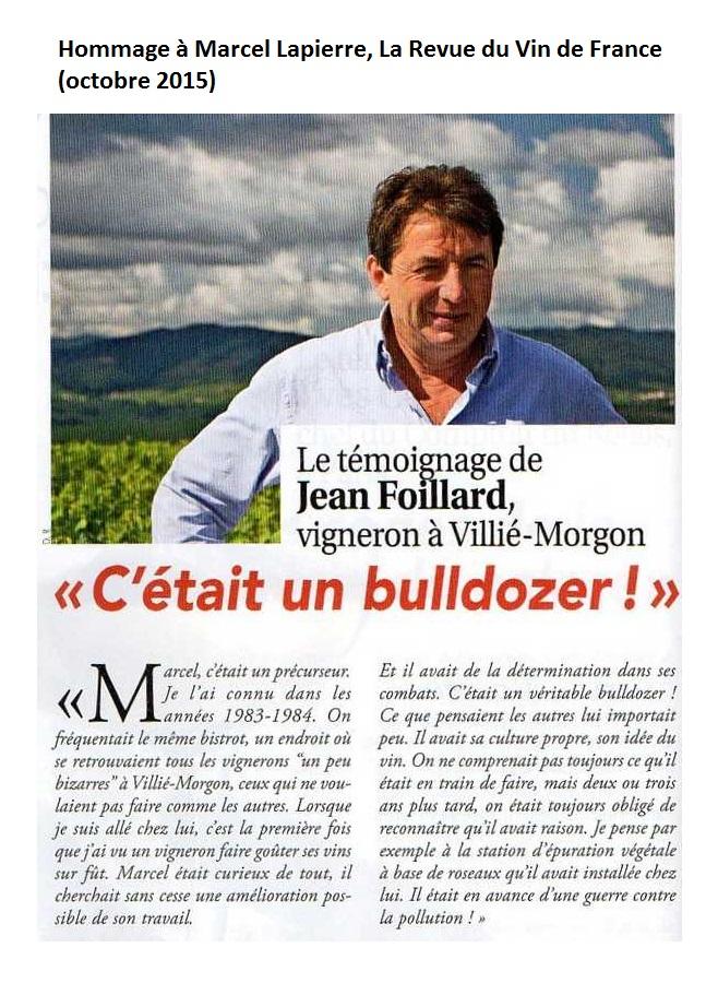 Marcel lapierre RVF