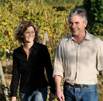 Laurent Combier dans les vignes