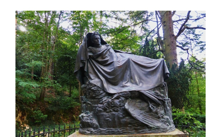 Statue françois rude fixin haut des vignes
