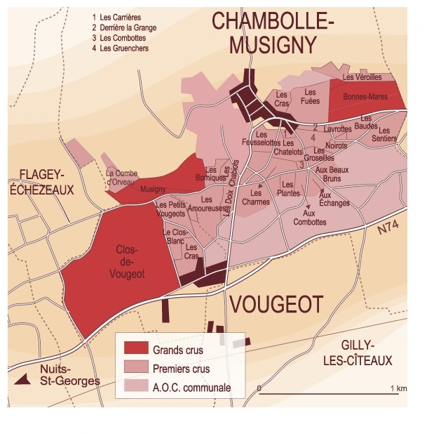 chambolle carte climat