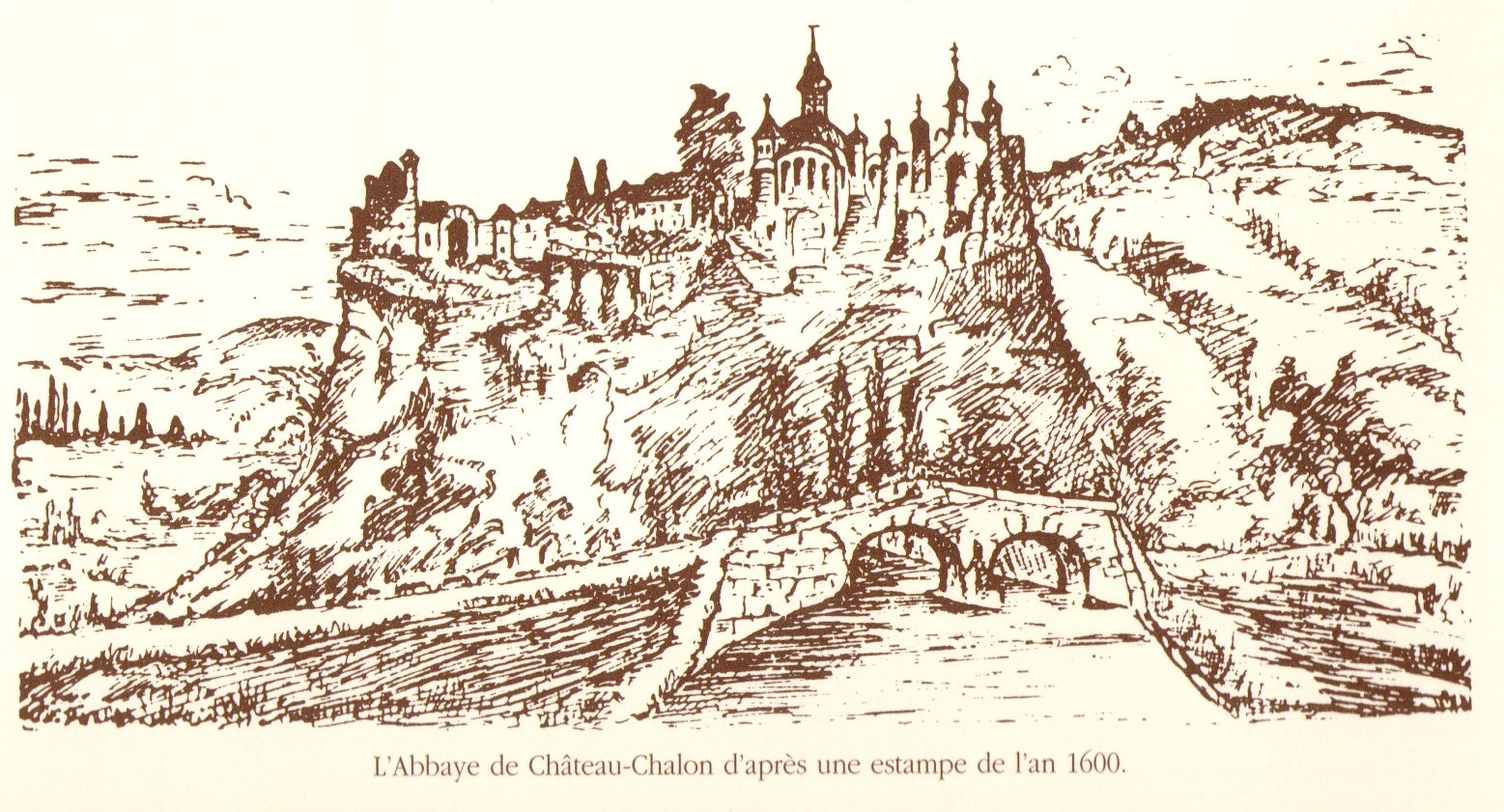 chateau chalon abbaye
