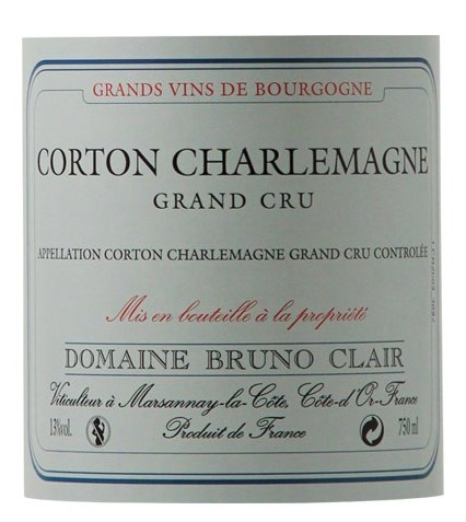 Corton Charlemagne grands crus vins