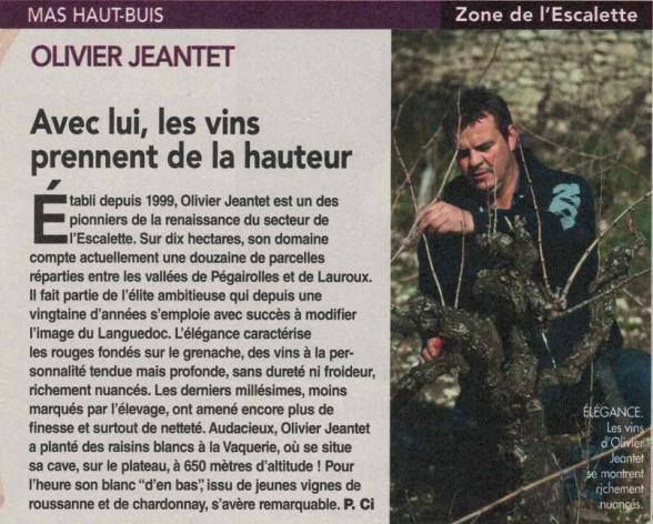Olivier Jeantet Mas Haut-Buis